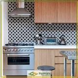 papel de parede de cozinha cotação Hortolândia